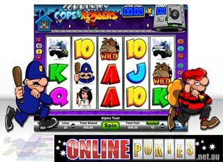 online casino australia cops and robbers slot